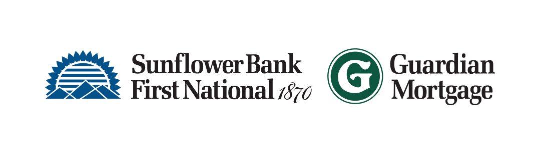 Sunflower Bank, First National 1870, Guardian Mortgage