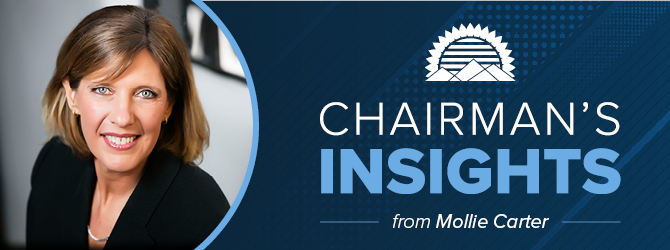 Chairman's Insights from Mollie Carter